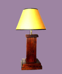 Solid Wood Lamps ESA Approved